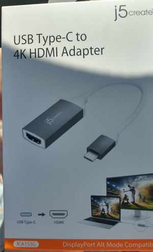 USB Type-C to 4K HDMI Adapter for Sale in St. Augustine, FL