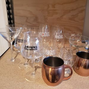 Beer, Wine, and Spirits Glassware! for Sale in Clackamas, OR