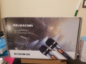 Alvoxcon microphones set for Sale in Los Angeles, CA
