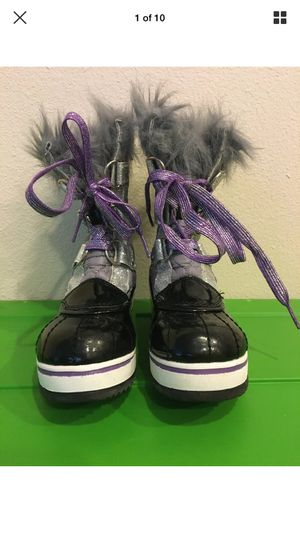 Snow boots for Girls Brand MIA KIDS for Sale in Portland, OR