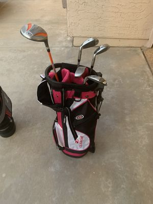 Golf Clubs with Bag for kids for Sale in Chandler, AZ