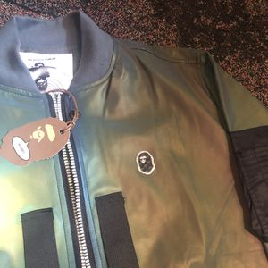 Bape 3M Bomber Jacket for Sale in New York, NY