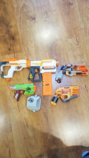 Lot of 4 Nerf guns for Sale in Vancouver, WA