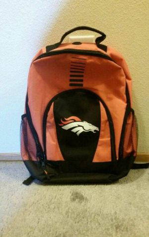 New Denver Broncos Backpack For Sale for Sale in Vancouver, WA