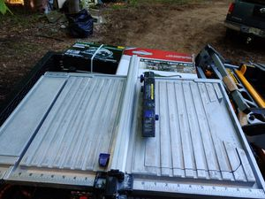 Kobolt 7 in 1 wet dry tile table saw for Sale in Gambrills, MD