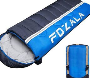 Camping Sleeping Bag, Lightweight Waterproof Sleeping Bag Warm & Cool Weather for Indoor/Outdoor/Hiking/Backpacking/Traveling/Adults & Kids for Sale in Pomona,  CA