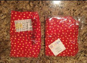 Lularoe Red Polka Dot Leggings - Be Minnie Mouse for Halloween for Sale in Centreville, VA