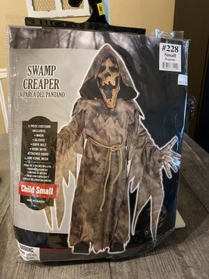 Swamp Creaper child costume Small 4-6 for Sale in Fort Lauderdale, FL
