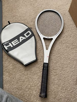 AMF HEAD ARTHUR ASHE COMPETITION TENNIS RACKET RACQUET W/ COVER BUICK for Sale in Las Vegas, NV