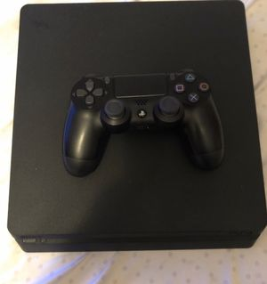 PS4 slim , comes with controller & cords for Sale in Hillcrest Heights, MD