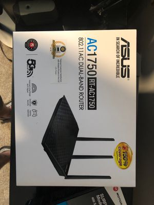 ASUS AC1750 AC Dual Band Router for Sale in Knightdale, NC