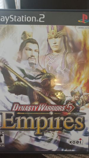 Dynasty Warriors 5 Empires PS2 for Sale in Miami, FL