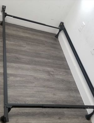Twin Size Bed Frame with Bunkie Board for Sale in Miramar, FL