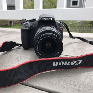 Canon EOS Rebel T5 Camera & Additional Lens for Sale in New Bedford, MA