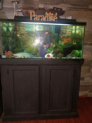 40 gallon fish tank for Sale in Bell Gardens, CA