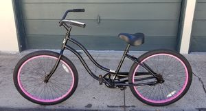 Black and pink beach cruiser for Sale in San Diego, CA