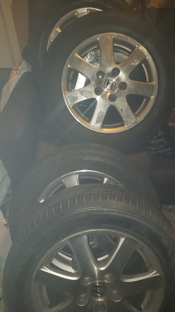 Rims and new tires