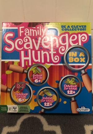 Family Scavenger Hunt In A Box for Sale in Acworth, GA