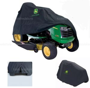 John Deer Riding Mower Cover Deluxe Garden Tractor Protection Black Polyester for Sale in Hialeah, FL