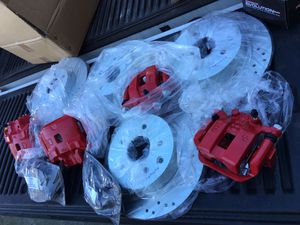 03-05 Nissan and Infiniti brand new calipers, drilled rotors and brake pads for Sale in Seattle, WA
