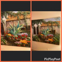 Large canvas painting for Sale in Pompano Beach,  FL