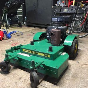 John Deere Commercial Walk-behind Zero Turn Lawnmower w/owner manual OBO for Sale in Blythewood, SC