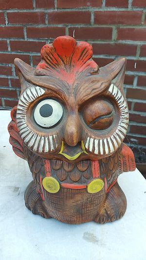 Vintage Owl Cookie Jar for Sale in St. Louis, MO