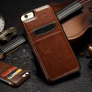 Iphone 7 leather wallet case for Sale in Beaverton, OR