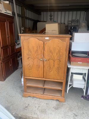 Tv Armoire has drawers just not in picture for Sale in Ashland City, TN