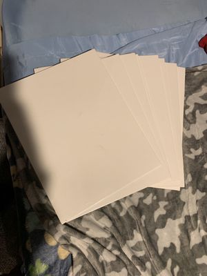 8 pack of Canvas Panels for Sale in Pittsburgh, PA