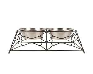 Dog bowls with Stand for Sale in Charlotte, NC
