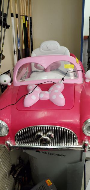 Huffy Minnie Mouse battery powered convertible for Sale in Opelousas, LA