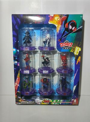 SPIDERMAN INTO THE SPIDER VERSE- 8 CHARACTER BOX SET (#669B960) for Sale in Pompano Beach, FL