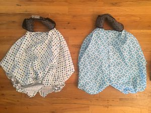 Infant Carry & Cover Car Seat Covers (2) for Sale in Lynnwood, WA