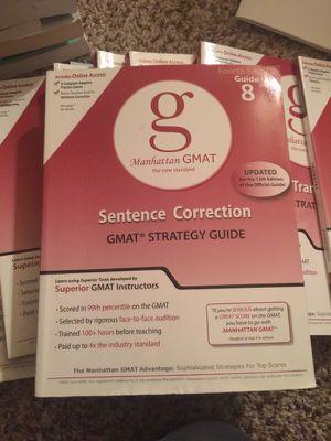 GMAT study guide for Sale in Dallas, TX