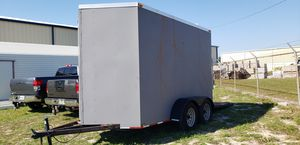 6x12 enclosed trailer with extra height for Sale in Winter Haven, FL