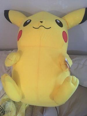 Large 32' pikachu Pokémon stuff animal for Sale in Grosse Pointe Park, MI