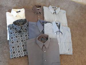 Mens Long Sleeve Dress Shirts for Sale in Visalia, CA