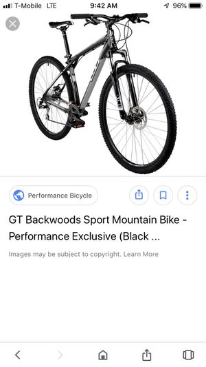 GT Backwoods Sport bike for Sale in Grand Prairie, TX