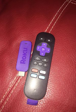 Roku stick and remote for Sale in Valley View, OH