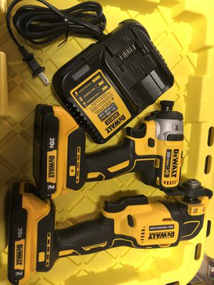 New impact drill and multi tool set for Sale in Tacoma, WA