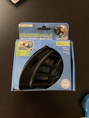 Baskerville dog muzzle for Sale in Arvada, CO