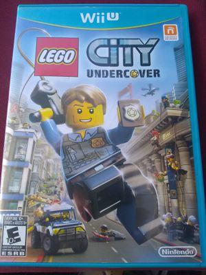 Lego City undercover nintendo Wii u for Sale in Fair Oaks, CA