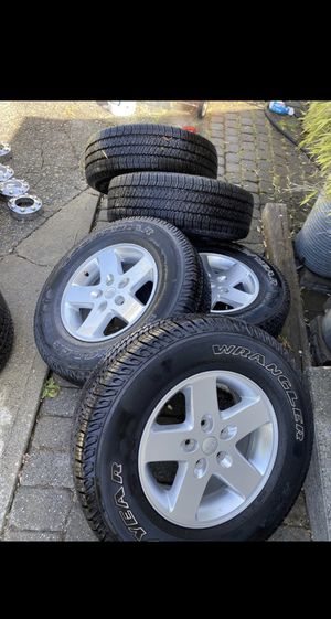5x5 wheels and tires for Sale in Seattle, WA