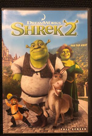 Shrek 2 DVD for Sale in Bakersfield, CA