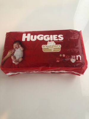 Huggies Diapers - Newborn for Sale in Euless, TX