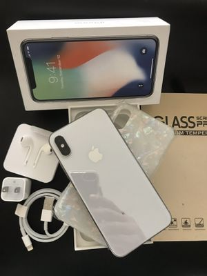 IPHONE X UNLOCKED FOR ANY CARRIER COMPANY & WORLDWIDE 256GB for Sale in Monterey Park, CA
