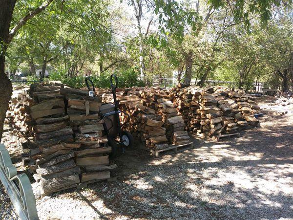 Oak fire wood