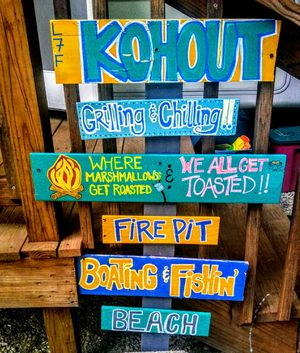 Personalized Lake/ Pool Signs for Sale in Herculaneum, MO