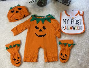 Pumpkin infant halloween costume for Sale in Houston, TX